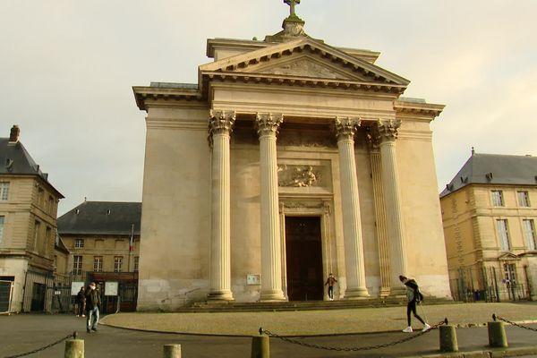 Entrée du public de la préfecture de Seine-Maritime à Rouen – Archives