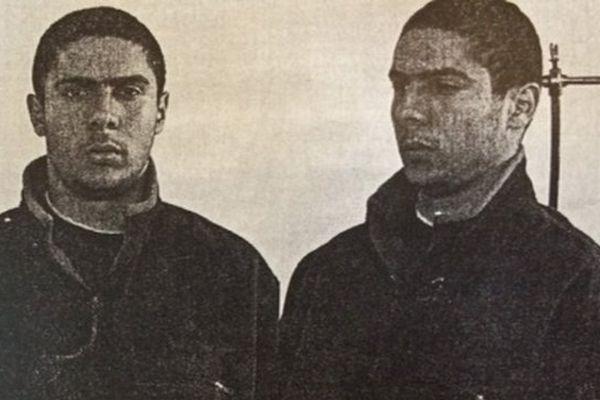 Mehdi Nemmouche lors de son arrestation pour le braquage d'une supérette en 2006 à Tourcoing