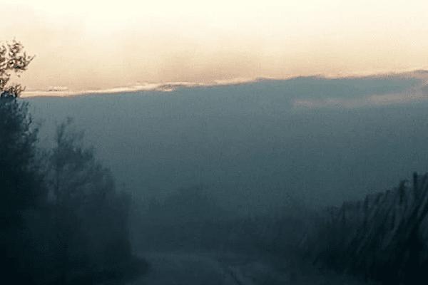 D'épaisses fumées ont été signalées au petit matin, ce samedi 17 avril.