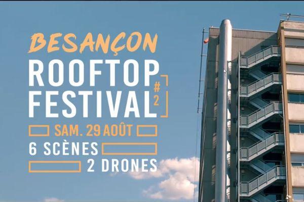 La deuxième édition du Besançon Rooftop Festival proposera six artistes différents, dans six lieux emblématiques de la capitale comtoise.