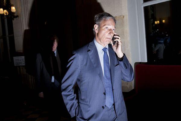 Bernard Deflesselles député LR sortant de la 9e circonscription des Bouches-du-Rh$one (Aubagne).