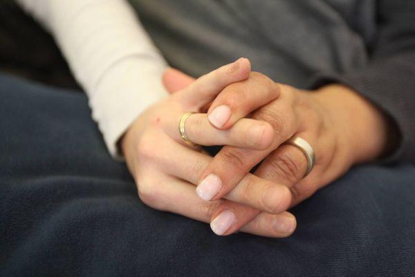 Florence et Ahmed se sont mariés en janvier 2020
