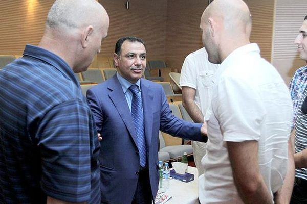 Hafiz Mammadov au FC Bakou en août 2014.