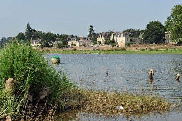 La confluence de la Maine et de la la Loire