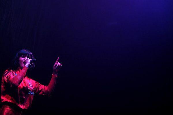 The Dø en concert au Printemps de Bourges, le 29 avril 2015.