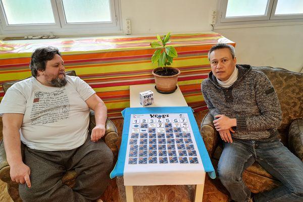 Pierre Martin et Stéphane Nguyen ont inventé le jeu pendant le premier confinement.
