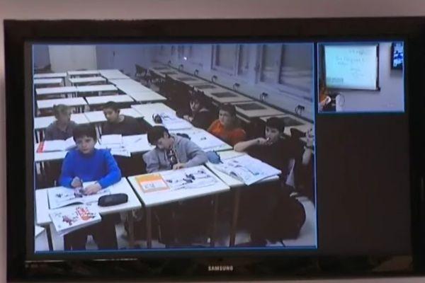 Le collège est déployé sur 3 sites distants, et utilise fréquemment la viso-conférence pour les cours
