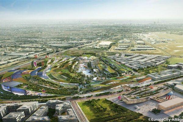 Apparu en 2011, le projet Europacity a beaucoup évolué pour ressembler à un quartier « vert » et culturel et non plus à un complexe commercial. Mais cela n'a pas suffi à convaincre le gouvernement.