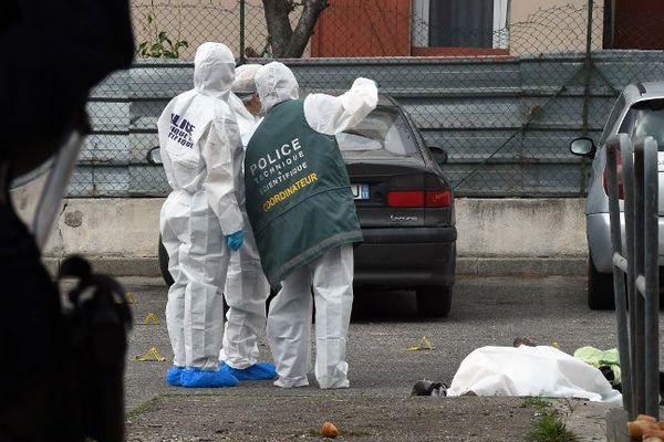 L'homme a été pris pour cible rue Alphonse Allais dans le 14e arrondissement de Marseille.