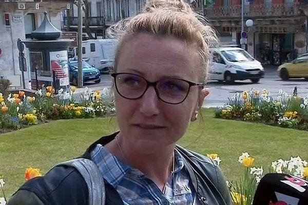 La mère d'Alexia, le jour de l'ouverture du procès du meurtrier présumé de sa fille - 25 mars 2019.