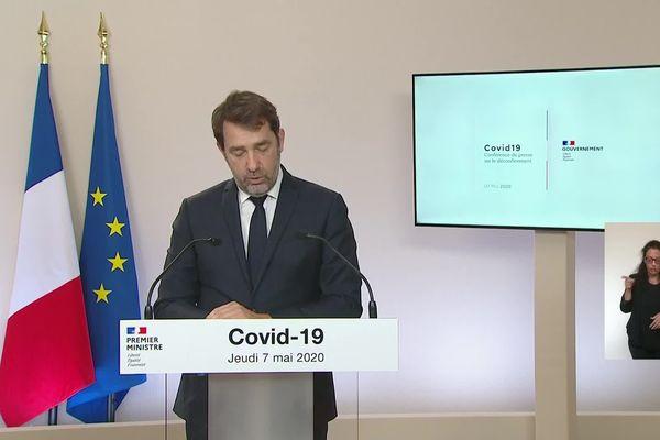 Christophe Castaner, Ministre de l'Intérieur explique les déplacements possibles lors du déconfinement prévu le 11 Mai