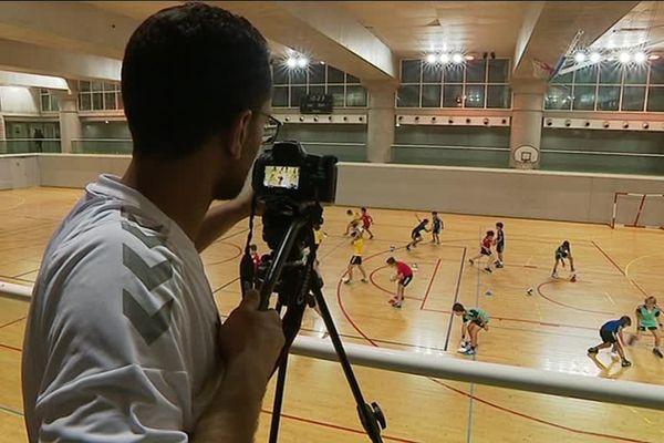 Les petits joueurs du MHB de Montpellier font figurer dans un clip pour promouvoir le Handball et ses valeurs dans le monde entier