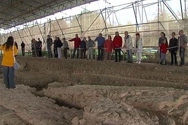 Le site archéologique de Vieux-la-Romaine, dans le Calvados
