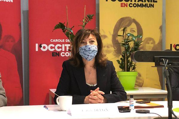 Carole Delga a présenté ce vendredi son projet santé pour les élections régionales. L'occasion d'annoncer que le directeur du SAMU 31 sera sur sa liste