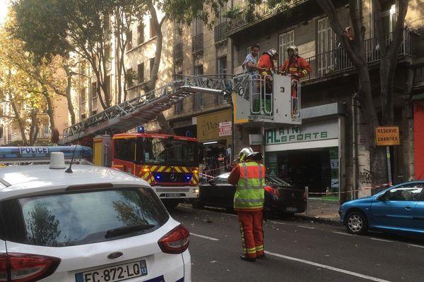 Boulevard de Strasbourg, 13 personnes ont été évacuées de leur immeuble