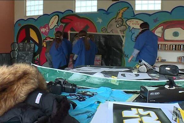 Activité street art pour les vacances scolaires