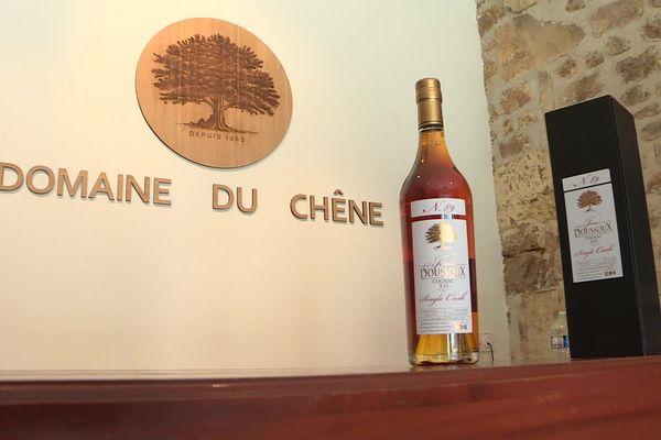 Le cognac XO Doussoux-Baillif élu meilleur cognac du monde par un jury international