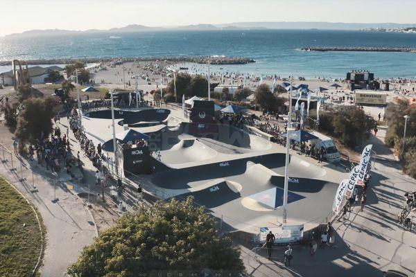 Le bowl de Marseille, une référence dans le monde de la glisse fête ses 30 ans.