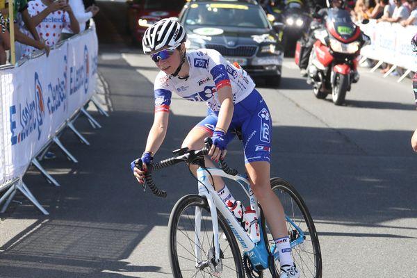 Évita Muzic lors du Tour de France 2019