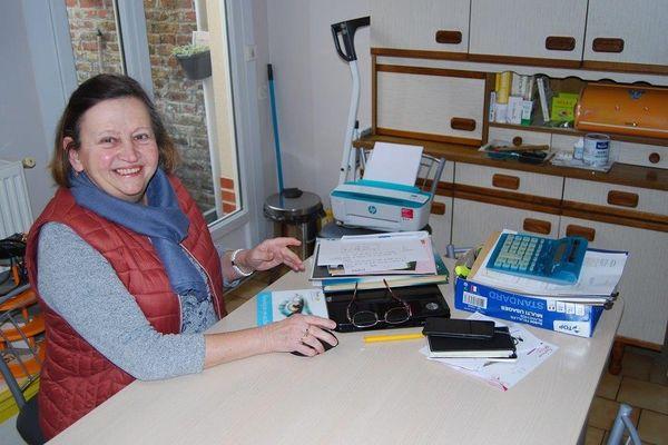 Michelle Jolly est la présidente du comité de quartier Sainte Anne à Amiens