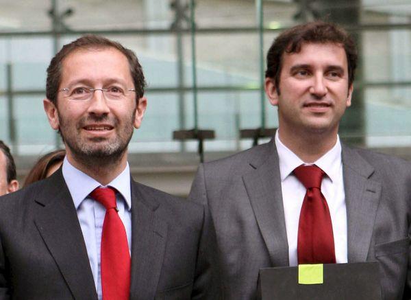 Marc Ingla et Ferran Soriano en 2010..