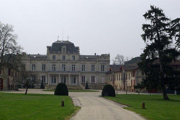 La Château Giscours à Labarde (Gironde).