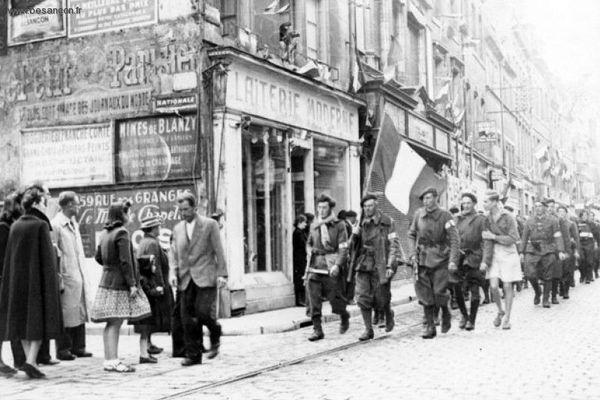 La libération de Besançon a eu lieu le 8 septembre 1944