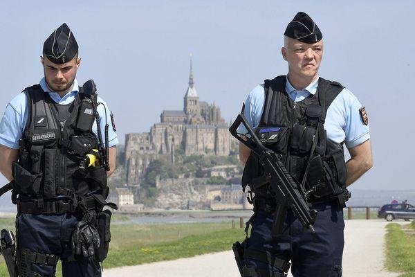 Evacuation du Mont-Saint-Michel suite à la présence d'un suspect menaçant dimanche 22 avril 2018