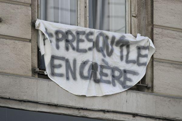 """Le collectif """"Presqu'île en colère"""" représentant 150 personnes a déposé un recours contre la Ville de Lyon en septembre 2019."""