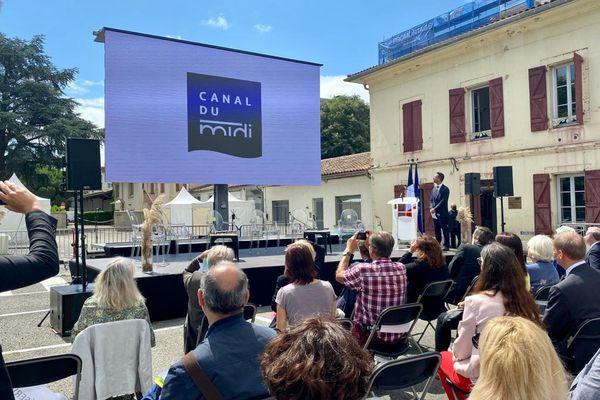 Toulouse- La marque Canal du Midi a officiellement été lancée ce jeudi 8 juillet 2021, en présence du ministre des Transports.