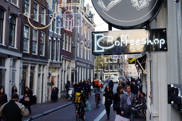 Une rue d'Amsterdam.