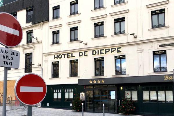 L'Hôtel de Dieppe de Rouen le 20 décembre 2019 à 14h50