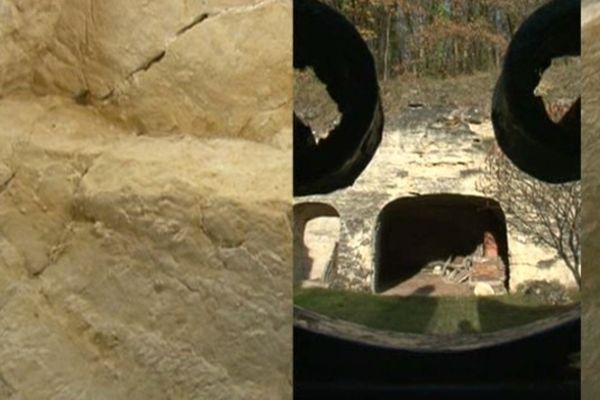Habitat troglodytique à Villaines-les-Rochers (37)