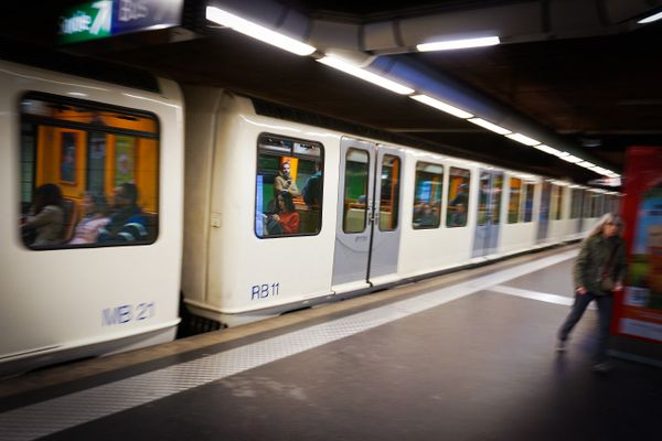 Illustration. Métro de Marseille.