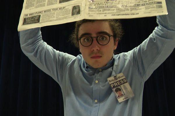 Loïc Hénaut alias Clark Kent