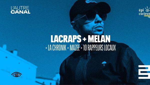 Concert de rap indépendant à l'Autre Canal, le 04 mai 2019.