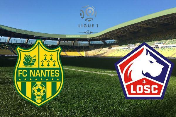 Le FC Nantes reçoit le Losc le 23 mars 2019 au stade de la Beaujoire