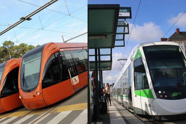 Les transports publics du Mans et de Nantes, comme ceux des autres préfectures de la région, s'adaptent à la crise sanitaire.