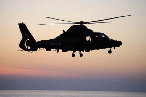 Le dauphin, hélicoptère de la Marine Nationale (photo d'illustration.)
