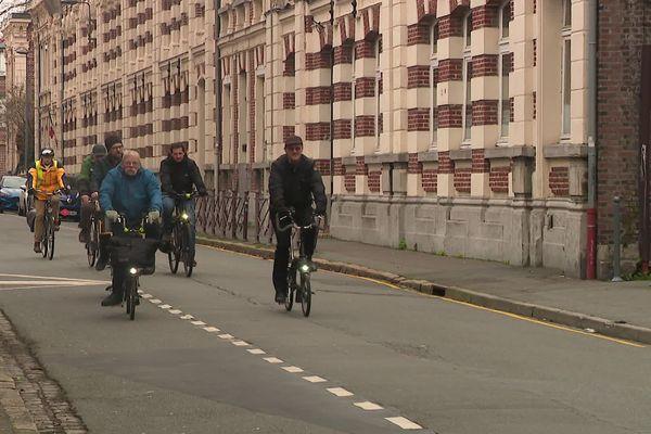 Rue Cabanis et de la Phalecque, les cyclistes seront désormais prioritaires dans les deux sens de circulation.