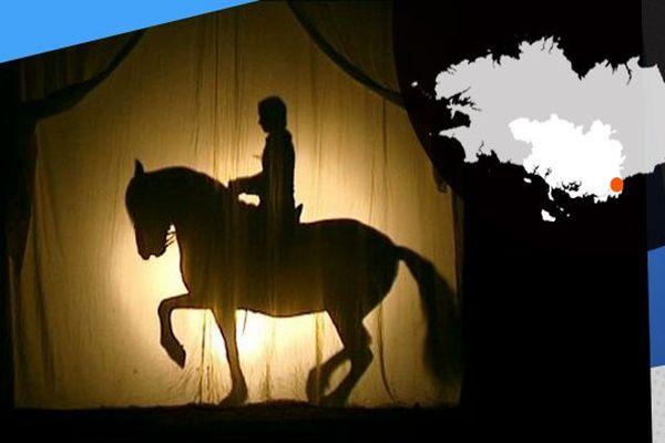 Jeux d'ombres à cheval