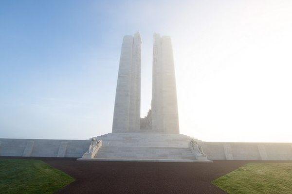 Le mémorial canadien de Vimy, lieu de mémoire de la Grande Guerre le plus fréquenté du Nord Pas-de-Calais