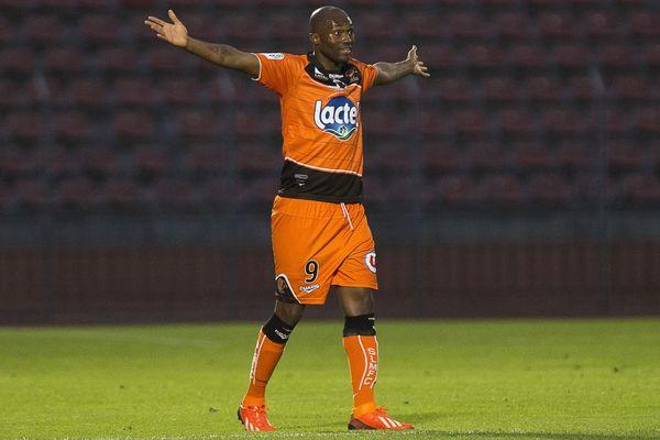 Christian Bekamenga du Stade Lavallois ici à Créteil.