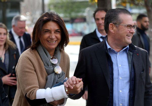 Martine Vassal et Bruno Gilles, deux candidats à l'investiture LR à Marseille.