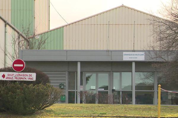 L'usine Les Céramiques située à Couteuges en Haute-Loire a été placée en redressement judiciaire début décembre