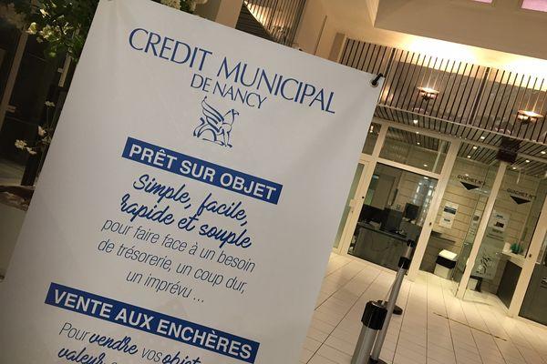 """Le Crédit municipal de Nancy lance un """"prêt d'urgence sociale""""."""