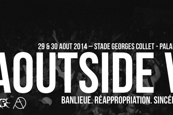 Le festival Aoutside, les 29 et 30 août prochains.