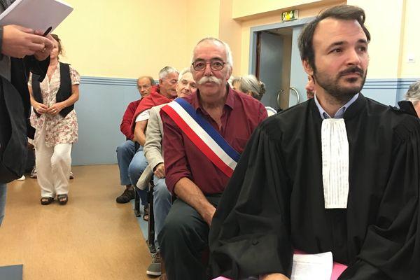 Le maire de Loubaut, dans l'Ariège, devait justifier son arrêté anti-Linky ce jeudi matin au tribunal administratif de Toulouse.