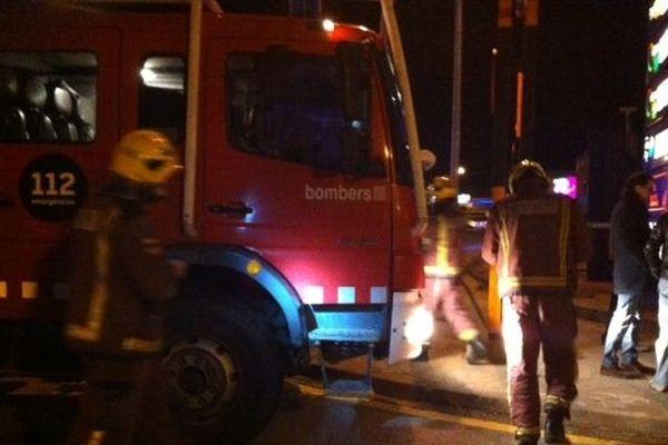 Les pompiers catalans prêts à intervenir en cas d'explosion