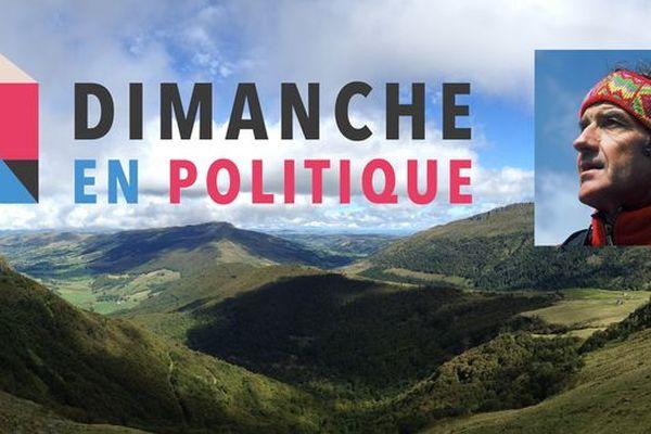 Dimanche en politique spécial Auvergne Rhône Alpes, reçoit l'alpiniste auvergnat Jean-Pierre Frachon.